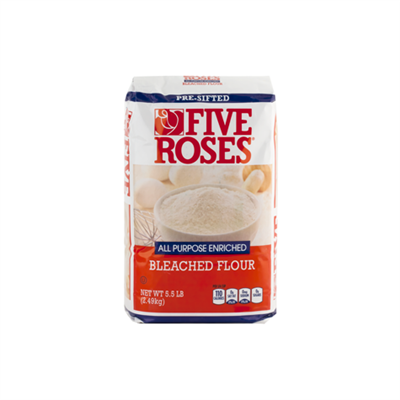 ADM Bakers Five Roses Flour 10 x 5.5lb (2.5kg)