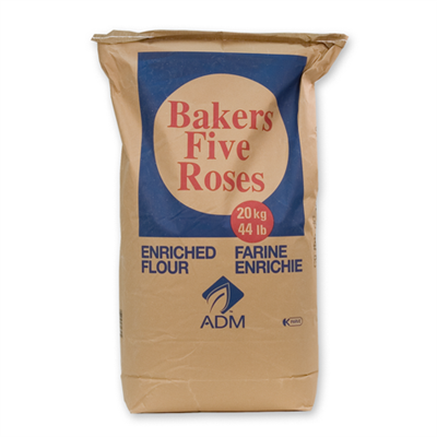 ADM Bakers Five Roses Flour 44lbs (20kg)