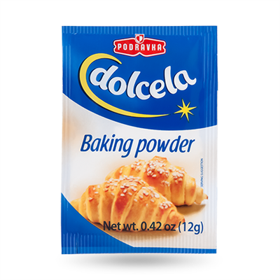 Podravka Dolcela Baking Powder 48 x 12g