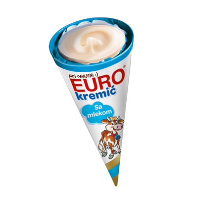 Takovo Euro Kremic Milk Mini Kornet 15 x 65g