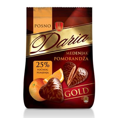 SL Daria Medenjak Choc Gingerbread Orange 21 x 150g