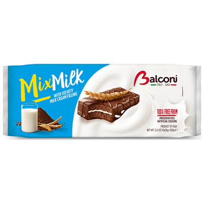 Balconi Mix Milk 15 x 350g