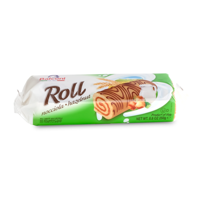 Balconi Roll Hazelnut 12 x 250g