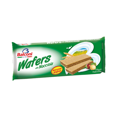 Balconi Wafers Nocciola Hazelnut 24 x 175g