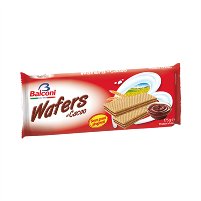 Balconi Wafers Cacao Cocoa 24 x 175g