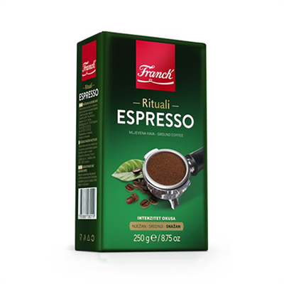 Franck Espresso Ground Coffee 16 x 250g