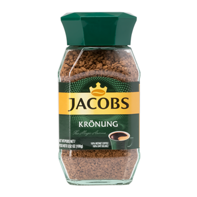 Jacobs Kronung Instant Coffee 6 x 100g