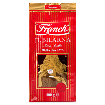 Franck Jubilarna Ground Coffee 10 x 400g