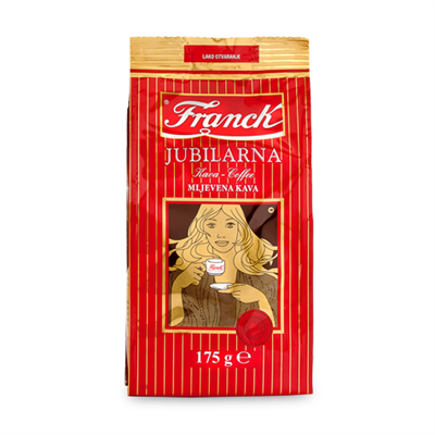 Franck Jubilarna Ground Coffee 12 x 175g