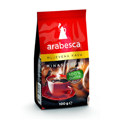 Arabesca Minas Ground Coffee 40 x 100g