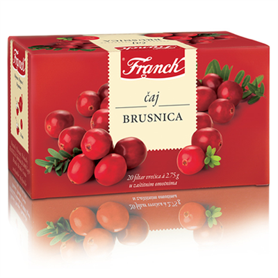 Franck Tea Brusnica Cranberry 20 x 55g