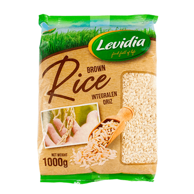 Levidia Rice Integral Brown 12 x 1000g