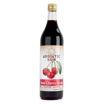 Adriatic Sun Sour Cherry Syrup 12 x 1L