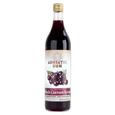 Adriatic Sun Black Currant Syrup 12 x 1L