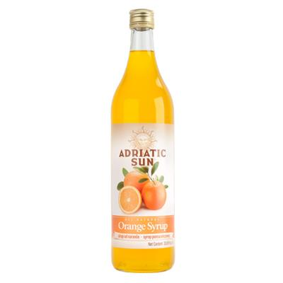 Adriatic Sun Orange Syrup 12 x 1L