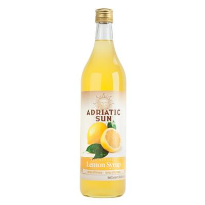 Adriatic Sun Lemon Syrup 12 x 1L