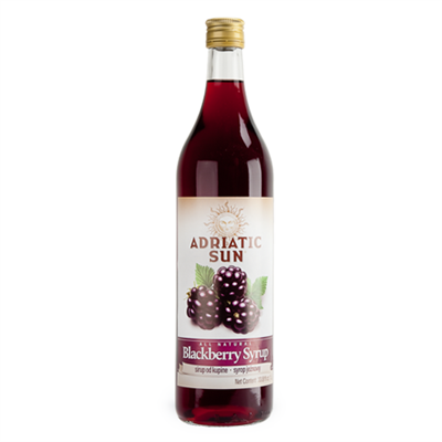 Adriatic Sun Blackberry Syrup 12 x 1L