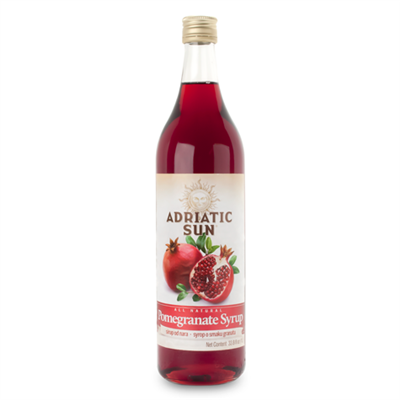Adriatic Sun Pomegranate Syrup 12 x 1L