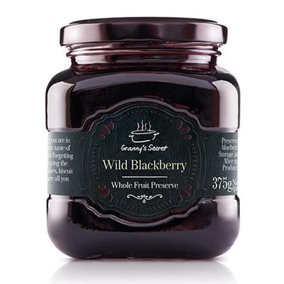 Grannys Secret Preserves Wild Blackberry 6 x 375g