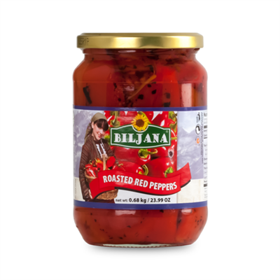 Biljana Roasted Red Pepper 12 x 680g