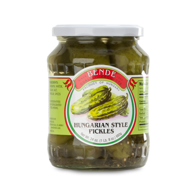 Bende Hungarian Style Pickles 12 x 680g