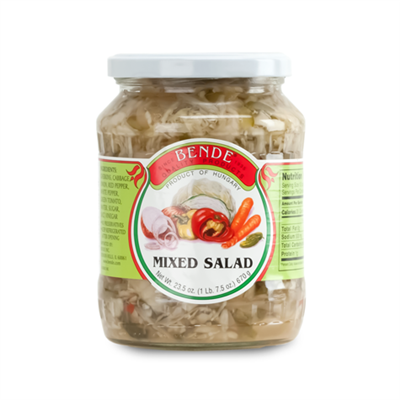 Bende Mixed Salad 12 x 23.5oz