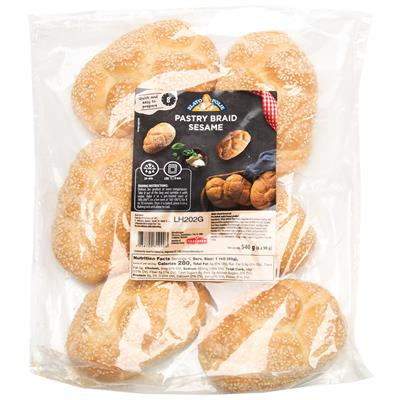 Zito Braided Roll Sesame 8 x (6x90g)