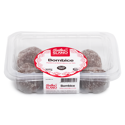 Bujrum Bombice Cake Balls with Coconut 6 x 400g