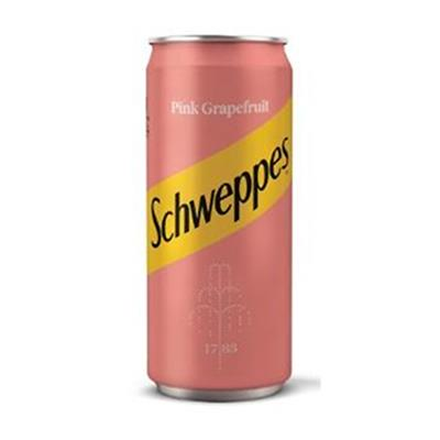 Schweppes Pink Grapefruit 24 x 330ml Can