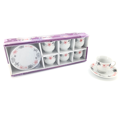 Coffee Service Set 12pc 160ml YX-3