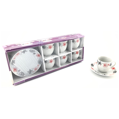 Coffee Service Set 12pc 160ml YX-7