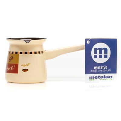 Metalac Dzezva Enamel Coffee Pot 2cm