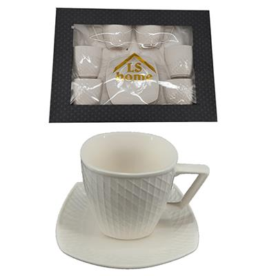 Coffee Service Set 12pc 180ml  B001B-6A