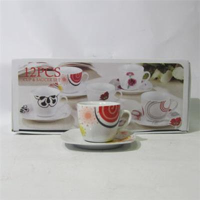 Coffee Service Set 12pc 180ml BGS-0702/2215/B